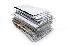 Stack of letters Stock Image