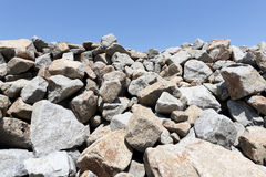 Stack of limestone Stock Image