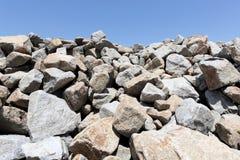 Stack of limestone Stock Image