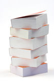 Stack of little books Royalty Free Stock Photography