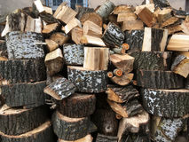 Stack of logs Royalty Free Stock Image