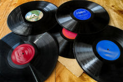 Stack of Lp's Stock Images