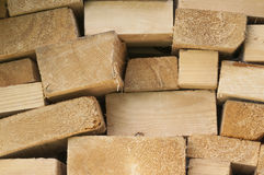 Stack of lumber Stock Photo