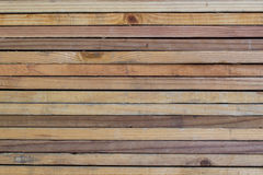 Stack of Lumber Royalty Free Stock Photography