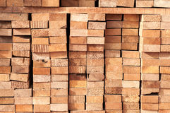 Stack of lumber Royalty Free Stock Image