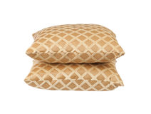 Stack of luxury cushions Stock Photo