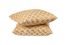 Stack of luxury cushions Stock Image