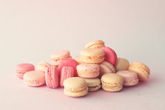 Stack of macaroons Royalty Free Stock Photo