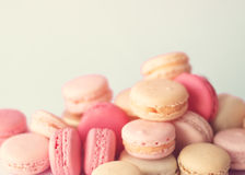 Stack of macaroons Royalty Free Stock Images