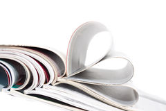 A stack of magazines Royalty Free Stock Image