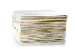 Stack of magazines Stock Photos