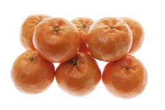 Stack of Mandarins Stock Photography