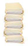 Stack of Manila Folders Royalty Free Stock Photos