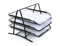 Stack of many old paper Royalty Free Stock Photos