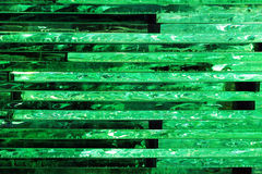 Stack of many transparent glass sheets as background.  Royalty Free Stock Photography