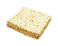 Stack of matxo crackers Royalty Free Stock Photo