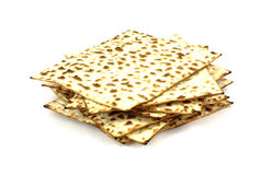 Stack Matzo Crackers Royalty Free Stock Photography