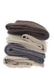 Stack of Men's Socks Royalty Free Stock Image