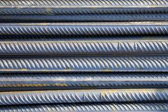 Stack of metal rods Stock Photography