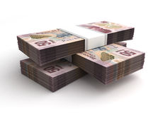 Stack of Mexican Pesos Royalty Free Stock Image