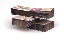 Stack of Mexican Pesos Royalty Free Stock Photos