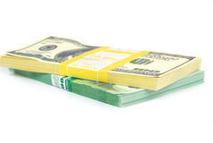 Stack of money Royalty Free Stock Image