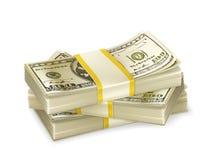 Stack of money stock illustration