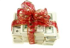 Stack of money Royalty Free Stock Photo