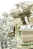 Stack of money Royalty Free Stock Images