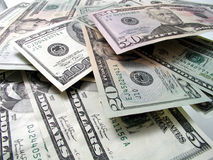 Stack of money Royalty Free Stock Photos