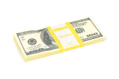 Stack of money Stock Images
