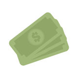 Stack money dollar bills cash Royalty Free Stock Photos