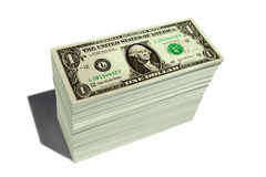 STACK OF MONEY Stock Photos