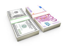 Stack of Money Royalty Free Stock Photography