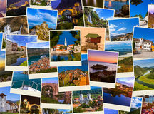 Stack of Montenegro and Bosnia travel images (my photos) Stock Photo