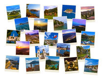 Stack of Montenegro and Bosnia travel images (my photos) Stock Images