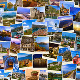 Stack of Montenegro and Bosnia travel images my photos Stock Photo