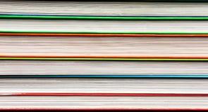 A stack of multicolored books Stock Photo