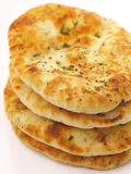 Stack of naan bread Royalty Free Stock Photography