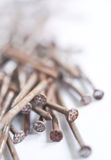 Stack of  nails Royalty Free Stock Image