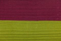 Stack of napkins closeup texture Stock Image