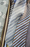 Stack of neckties Royalty Free Stock Photo