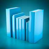 Stack of new books Royalty Free Stock Photography