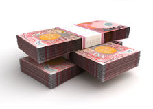 Stack of New Zealand Dollar Royalty Free Stock Photos