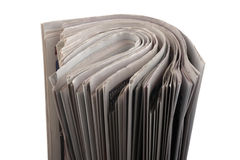 Stack newspapaer Royalty Free Stock Photo