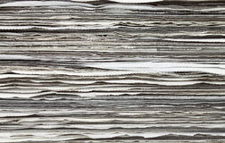 Stack of newspaper for background. Pattern of Stack newspaper for background stock photography