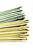Stack of newspapers Stock Images
