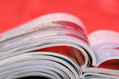 Stack of the newspapers Royalty Free Stock Photo