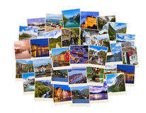 Stack of Norway travel shots Stock Photo
