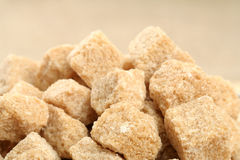 Stack of not refined sugar Stock Images
